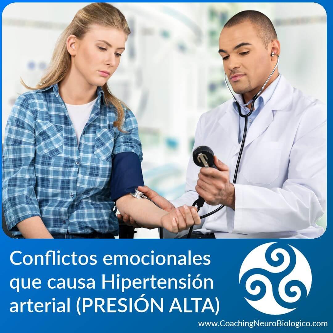 hipertensión presion alta