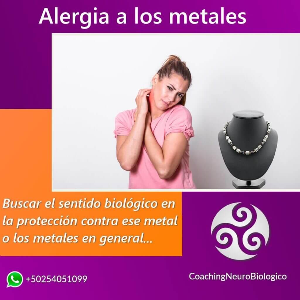 Alergia a los metales
