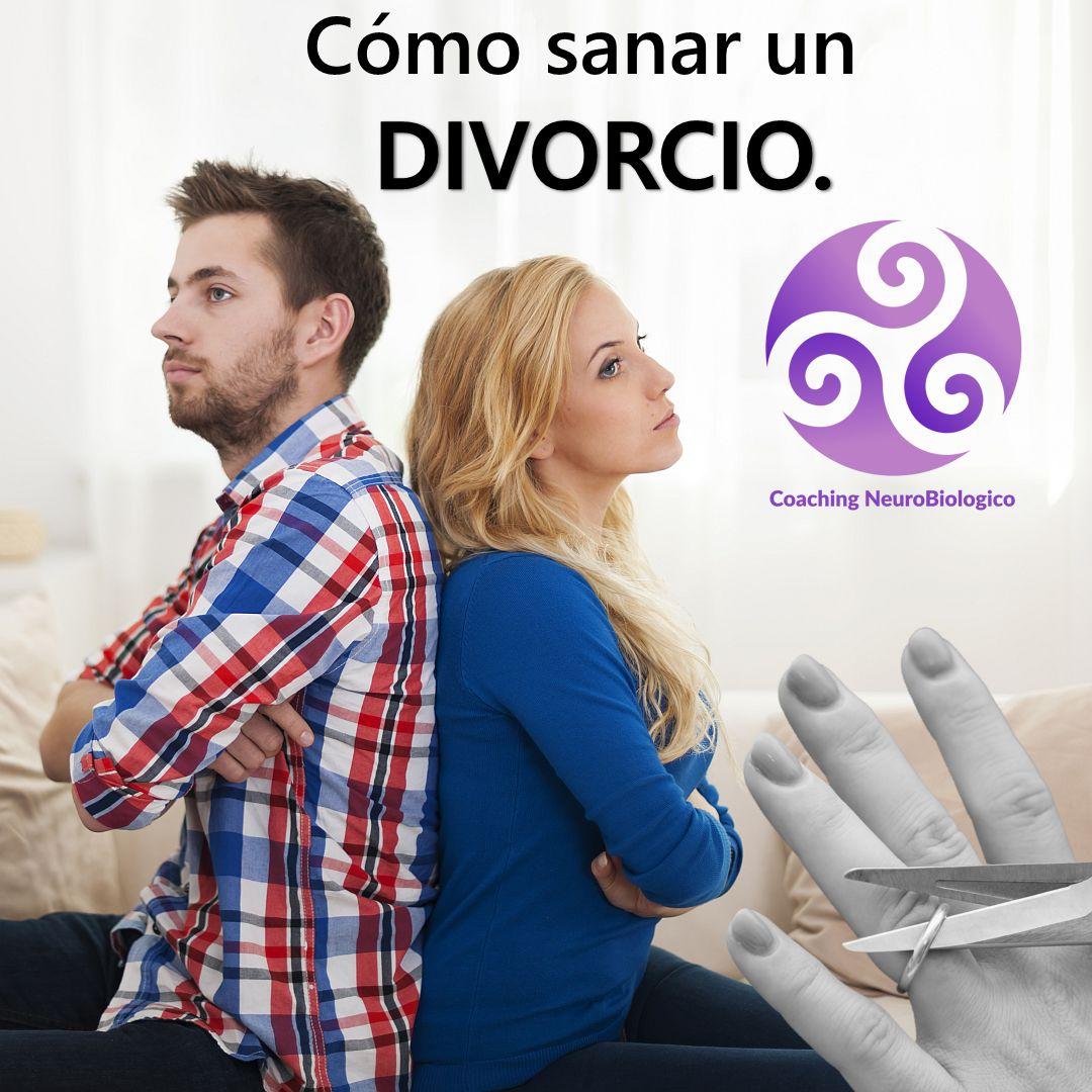 Pareja divorciandose